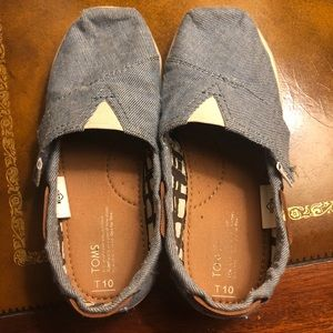TOMS toddler youth Bimini w/Velcro Sneakers